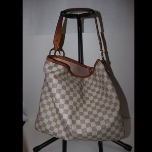 Authentic Louis Vuitton Damier Azur Delightful MM.